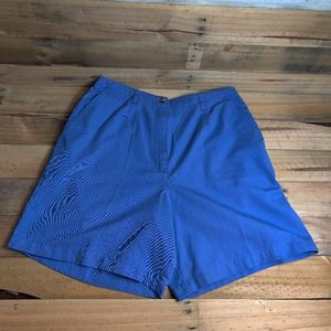 VTG High Waisted Shorts Blue
